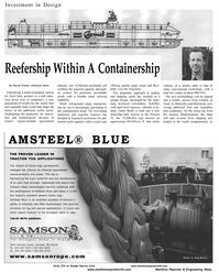 Maritime Reporter Magazine, page 10,  Aug 2001 David Tinsley