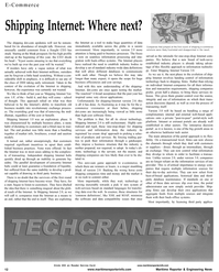 Maritime Reporter Magazine, page 14,  Aug 2001 clever technology