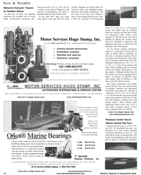 Maritime Reporter Magazine, page 16,  Aug 2001 HUGO STAMP