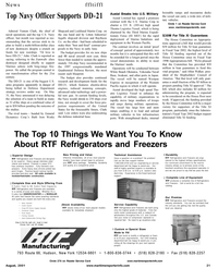 Maritime Reporter Magazine, page 23,  Aug 2001 Hudson