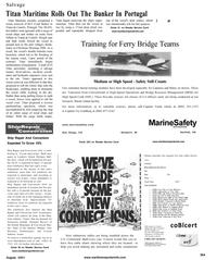 Maritime Reporter Magazine, page 25,  Aug 2001 Florida
