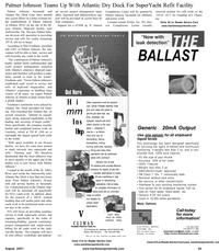 Maritime Reporter Magazine, page 31,  Aug 2001 Georgia