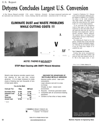 Maritime Reporter Magazine, page 34,  Aug 2001 lower paint consumption