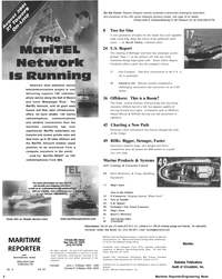 Maritime Reporter Magazine, page 2,  Aug 2001 Fast Company