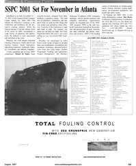 Maritime Reporter Magazine, page 43,  Aug 2001 Robert R. Hafer