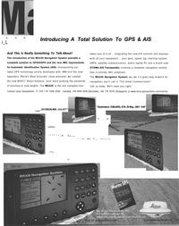 Maritime Reporter Magazine, page 3,  Aug 2001 ETA
