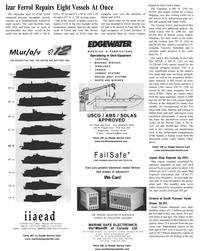 Maritime Reporter Magazine, page 48,  Aug 2001 Tasmania
