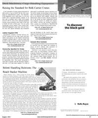 Maritime Reporter Magazine, page 51,  Aug 2001 bulk carrier
