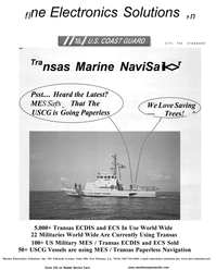 Maritime Reporter Magazine, page 57,  Aug 2001 Transas Paperless Navigation Marine Electronics Solutions Inc.