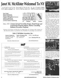 Maritime Reporter Magazine, page 4,  Aug 2001 Lucia Annunziata