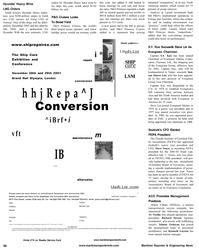 Maritime Reporter Magazine, page 66,  Aug 2001 Richard Savoie
