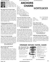 Maritime Reporter Magazine, page 67,  Aug 2001 Texas