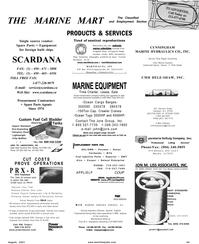 Maritime Reporter Magazine, page 75,  Aug 2001 West Coast