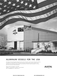 Maritime Reporter Magazine, page 7,  Aug 2001 powerhouse of Austal Ships