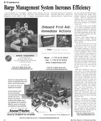 Maritime Reporter Magazine, page 20,  Sep 2001 David Seneko