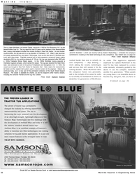 Maritime Reporter Magazine, page 30,  Sep 2001 New York