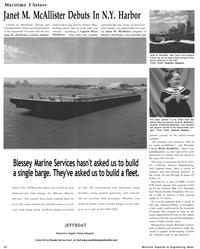 Maritime Reporter Magazine, page 32,  Sep 2001 Stephenie Hollyman