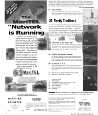 Maritime Reporter Magazine, page 2,  Sep 2001 Connecticut