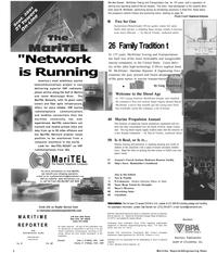 Maritime Reporter Magazine, page 2,  Sep 2001 Connecticut