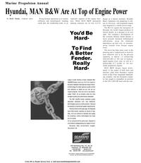 Maritime Reporter Magazine, page 40,  Sep 2001 elastomer technologies
