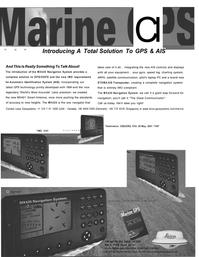 Maritime Reporter Magazine, page 3,  Sep 2001 ETA