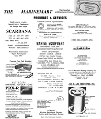 Maritime Reporter Magazine, page 65,  Sep 2001 West Coast