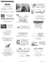 Maritime Reporter Magazine, page 70,  Sep 2001 Michigan