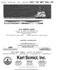 Maritime Reporter Magazine, page 4th Cover,  Sep 2001 Washington