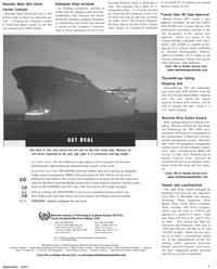 Maritime Reporter Magazine, page 7,  Sep 2001 Hamburg Sud