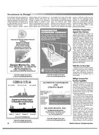 Maritime Reporter Magazine, page 10,  Oct 2001
