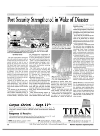 Maritime Reporter Magazine, page 12,  Oct 2001