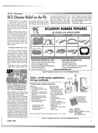 Maritime Reporter Magazine, page 15,  Oct 2001 New York