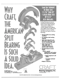 Maritime Reporter Magazine, page 2nd Cover,  Oct 2001 America Bearing Company Inc.
