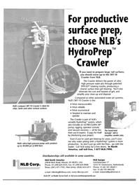 Maritime Reporter Magazine, page 24,  Oct 2001 HydroPrep