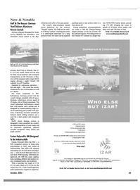 Maritime Reporter Magazine, page 25,  Oct 2001 U.S. Coast Guard