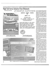 Maritime Reporter Magazine, page 32,  Oct 2001 CAD/CAM