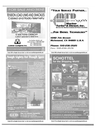 Maritime Reporter Magazine, page 34,  Oct 2001