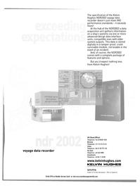 Maritime Reporter Magazine, page 37,  Oct 2001 Kelvin Hughes