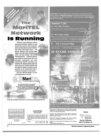 Maritime Reporter Magazine, page 2,  Oct 2001 Connecticut