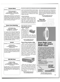 Maritime Reporter Magazine, page 41,  Oct 2001 New Jersey