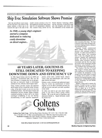 Maritime Reporter Magazine, page 42,  Oct 2001