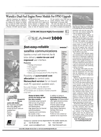 Maritime Reporter Magazine, page 44,  Oct 2001 Singapore South Africa