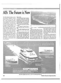 Maritime Reporter Magazine, page 50,  Oct 2001 radar plotting systems