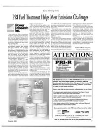 Maritime Reporter Magazine, page 55,  Oct 2001 heavy fuel oil sludge