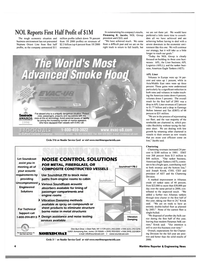 Maritime Reporter Magazine, page 4,  Oct 2001