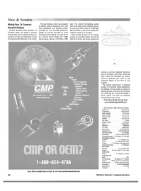 Maritime Reporter Magazine, page 58,  Oct 2001