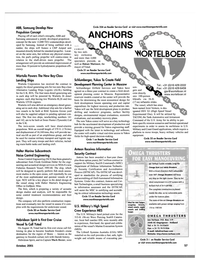 Maritime Reporter Magazine, page 65,  Oct 2001