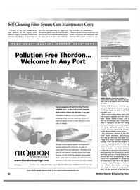 Maritime Reporter Magazine, page 69,  Oct 2001