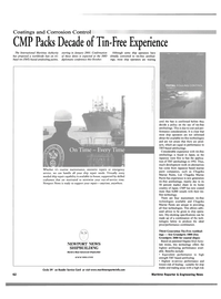 Maritime Reporter Magazine, page 3rd Cover,  Oct 2001 four technologies