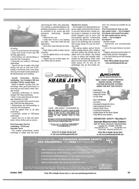 Maritime Reporter Magazine, page 4th Cover,  Oct 2001 Mediterranean